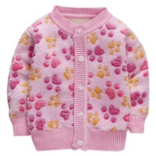 Пальто для маленьких девочек с милым принтом с героями мультфильмов теплая верхняя одежда из хлопка и бархата Детская куртка, топы