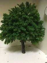 Железная дорога Военная Зеленая модель Дерево 20 30 см