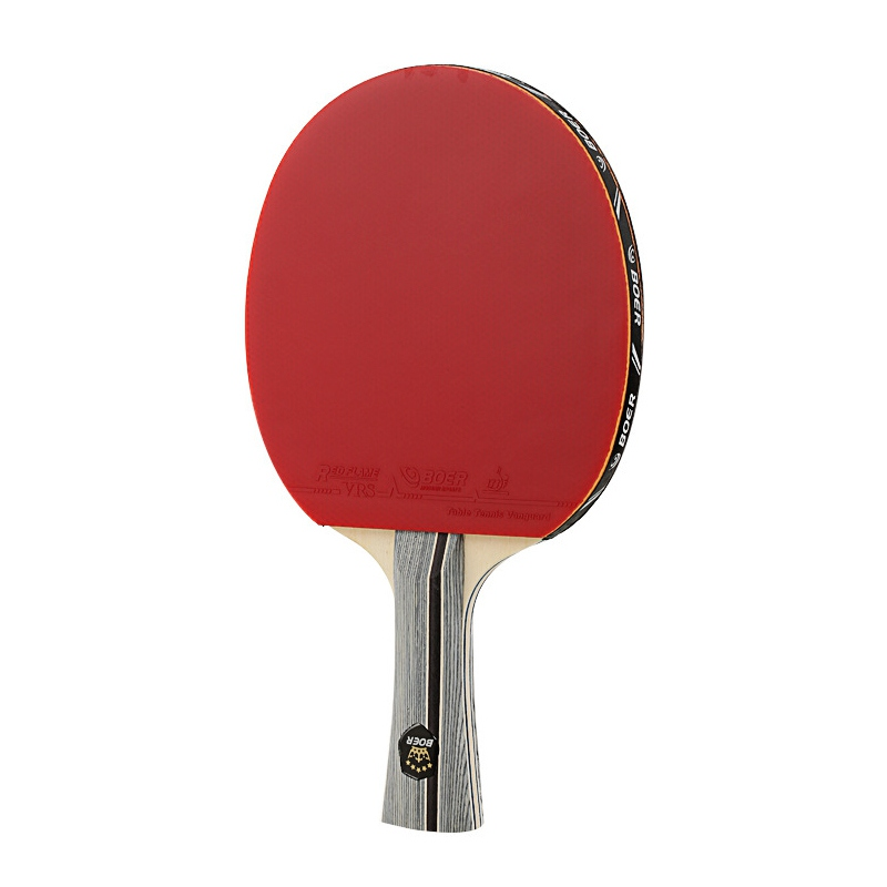 Long Straight/horizontal Grip Racket Table Tennis Racket Lightweight Powerful Ping Pong Paddle Table Tennis Training Accessories