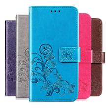 Luxury Retro Wallet Stand Flip Leather Case For Mei