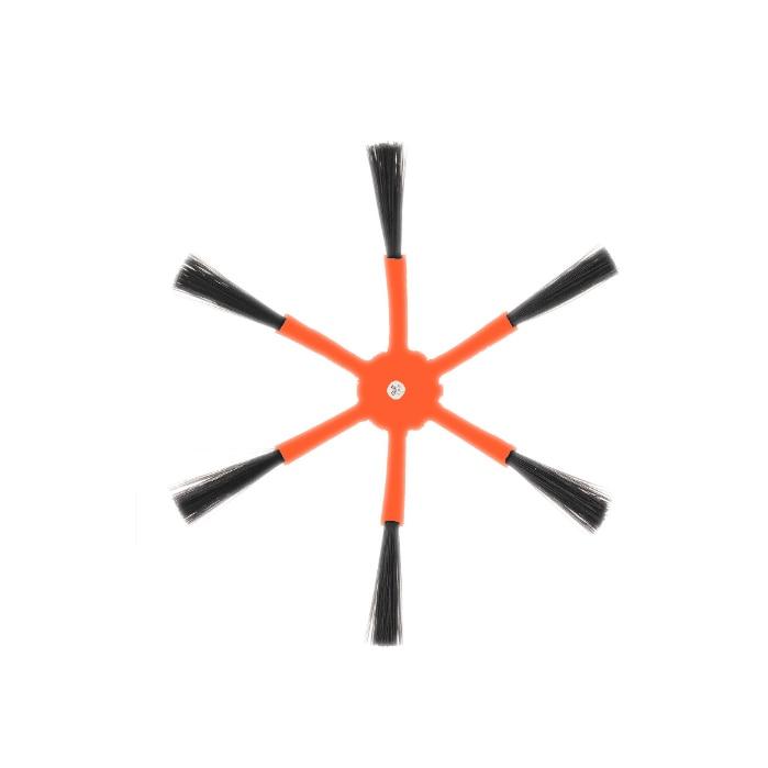 Image 3 - 2xDetachable szczotka główna + 4xOrange 6 Arm szczotka boczna + 6xFilter + 2xCleaning szczotka do Xiaomi/Roborock S50 S51 S55 S5 S6 Robot odkurzaczCzęści do odkurzaczy   -