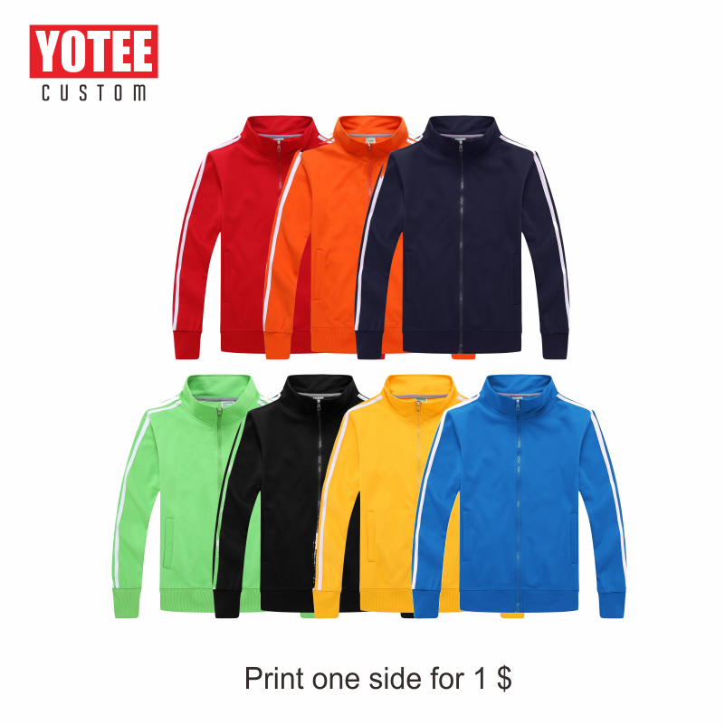 YOUTEE 2020 Autumn And Winter Men's Fashion LOGO Custom Breathable Men's Jacket