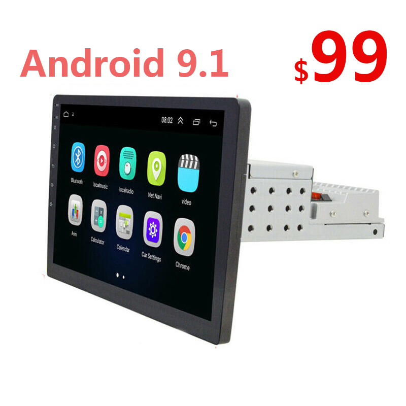 Car-Radio Multimedia 1din Android Universal 9-10.1inch Single Fm 50 Gps USB title=