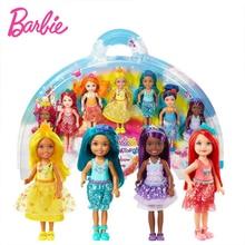 Barbie dolls Dreamtopia Rainbow Cove 7 Doll Toy For children Girl Birthday Children Gifts Fashion Figure Gift Boneca Brinquedo