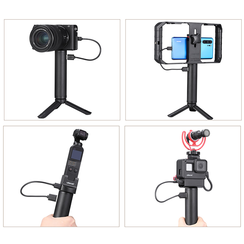 Image 3 - Ulanzi BG 1BG 2 5200mAh Power Stick Action Camera Hand Grips for Gopro 7 6 5 Osmo Action Osmo Pocket Universal Power Grip-in Sports Camcorder Cases from Consumer Electronics
