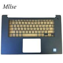 Frete grátis novo original eua layout palmrest para dell xps15 9570 ou precisão 5530 tipo de descanso de mãos fp botão de energia 04x63t 4x63t