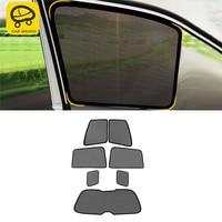 CARMANGO Car Sun Shade UV Protection Magnet Curtain Window Sunshade Side Mesh Visor Summer for Toyota Land Cruiser 200 2016 2018