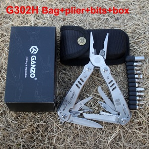 Image 4 - Ganzo כלי סכין Multitools Plier G302B G302H Ganzo הישרדות סכין מתקפל Plier EDC ציוד רב תכליתי כלים Plier קמפינג