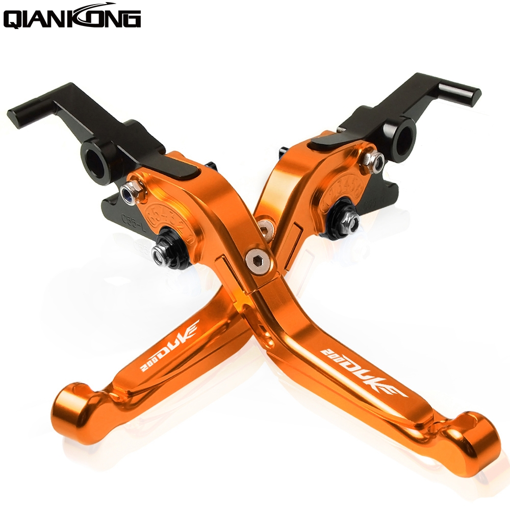 For KTM 200 Duke 2014 2015 2016 2017 2014 2017 200 Duke 200Duke Motorcycle CNC Adjustable Brake Clutch Levers handle in Covers Ornamental Mouldings from Automobiles Motorcycles