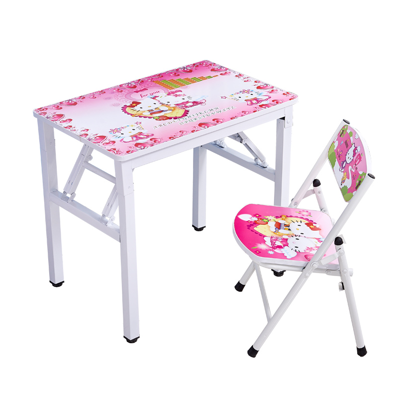 Children's Desk And Chair Folding Children's Desk Desk And Chair For Primary School Students