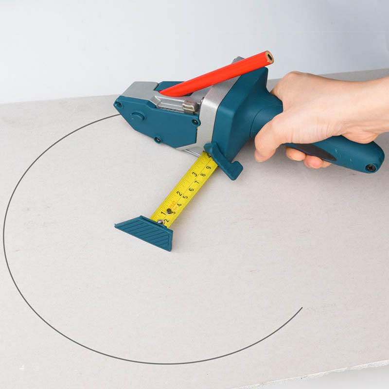 Tools : Drillpro Gypsum Board Cutter Drywall Cutting Artifact Cutting Tool With Scale Woodworking Scriber Portable Easy Cutting Tools