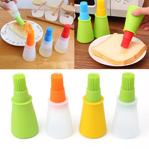 Silicone Oil Bottle Baking Brush Liquid Oil Honey Brushes Barbecue Tool Basting Pancake Kitchen Cooking Accessories Hot Sale