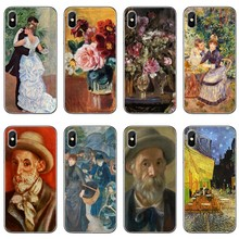 Pierre Auguste Renoir Lukisan Aksesoris Ponsel Case untuk iPhone 11 Pro XS Max XR X 8 7 6 6S plus 5 5S SE 4 S 4 IPod Touch(China)