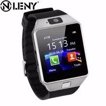 Беспроводные устройства DZ09 bluetooth Смарт часы для телефона android Поддержка SIM/TF нескольких языков для мужчин женщин детей спортивные наручные часы