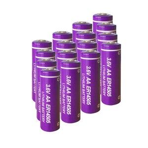 Image 2 - 10 個 3.6 V ER14505 14505 2400 1800mah の単三 LiSCLO2 バッテリー優れた LR6 R6P 1.5 V 電池 Gps のトラッキングカメラメモリバックアップ