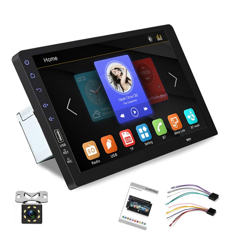 Car Multimedia Stereo, 2 Din 9 inch MP5 Player Automatic Audio Player Bluetooth USBTouch-Mirrorlink No Android