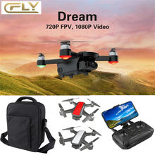 RC Drone C-Fly Dr-eam GPS WIFI FPV With 2-Axis Gimbal 4k Camera Optical Fl-ow + Backpack Ultra HD 4k Camera GPS Return 5G WiFi(China)