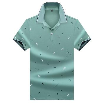 2020 Men Polo Shirt Short Sleeve Men's Shirts Casual Mens Clothing Summer Men Fashions Turn-down Collar Polos M-3XL