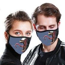 Masque unisexe en Fiber de bambou, Anti Pollution, Anti allergie, respirateur Anti poussière, pièce de rechange lavable, réutilisable, 4 pièces