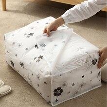 Quilt Storage Bag Large Moving Packing Bag Plastic Quilt Storage Bag Household Clothes Pillow Blanket Storage Bag