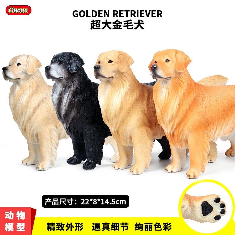 GOLDEN  RETRIEVER FIGURINE  ORNAMENT MODEL FIGURE MY GOLDEN RETRIEVER DOG GIFT