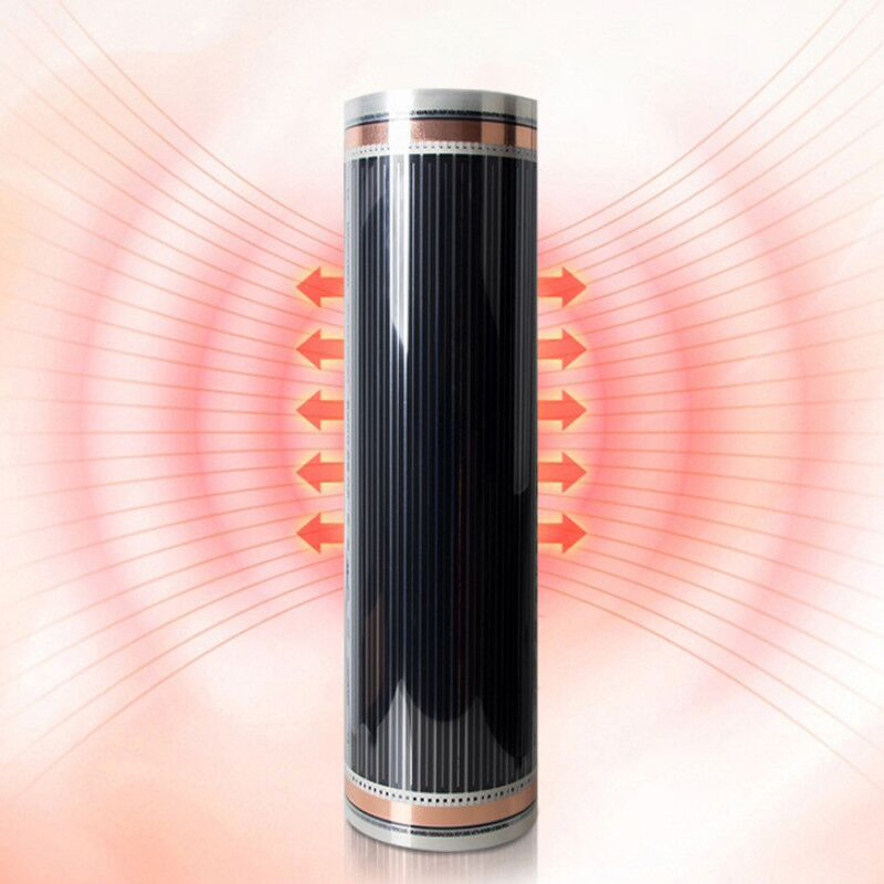 Carbon Graphene Floor Heating Wall Heating Electrothermal Film Far Infrared Heat Transfer 400w/M2 Save Electricity Safe X-004