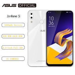 Перейти на Алиэкспресс и купить asus zenfone 5 ze620kl 6.2дюйм.19:9 fhd+2246*1080 screen android 8.0 cellphone 4gb 64gb nfc