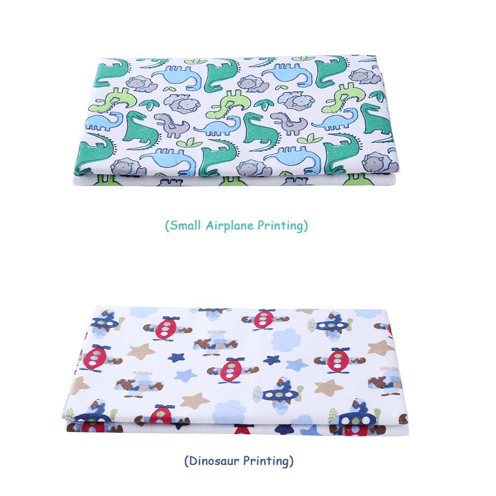 Baby Bed Sheet Breathable Changing Pad Printed Cotton Baby Waterproof Layer Cotton Blanket Waterproof Coating Beach Mat