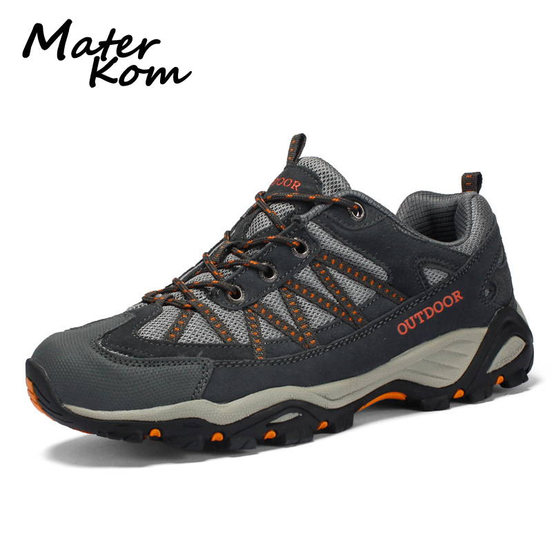 35-46 Couple Outdoor Trekking Shoes Men Breathable Wear-resistant Hiking Shoes Woodland Camping Walking Shoes zapatos senderismo