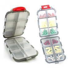 Mini Pill Box 12 Grids Medicine Pill Tablet Box Organizer Pills Case Weekly Medicine Container Organizer Case For Care Pills Box