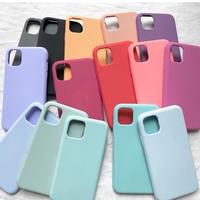 Custodia in Silicone originale ufficiale per iPhone 11 7 8 Plus XR X XS Max 6 6s custodie per iPhone 12 12 Pro MAX SE 2020 Cover con scatola