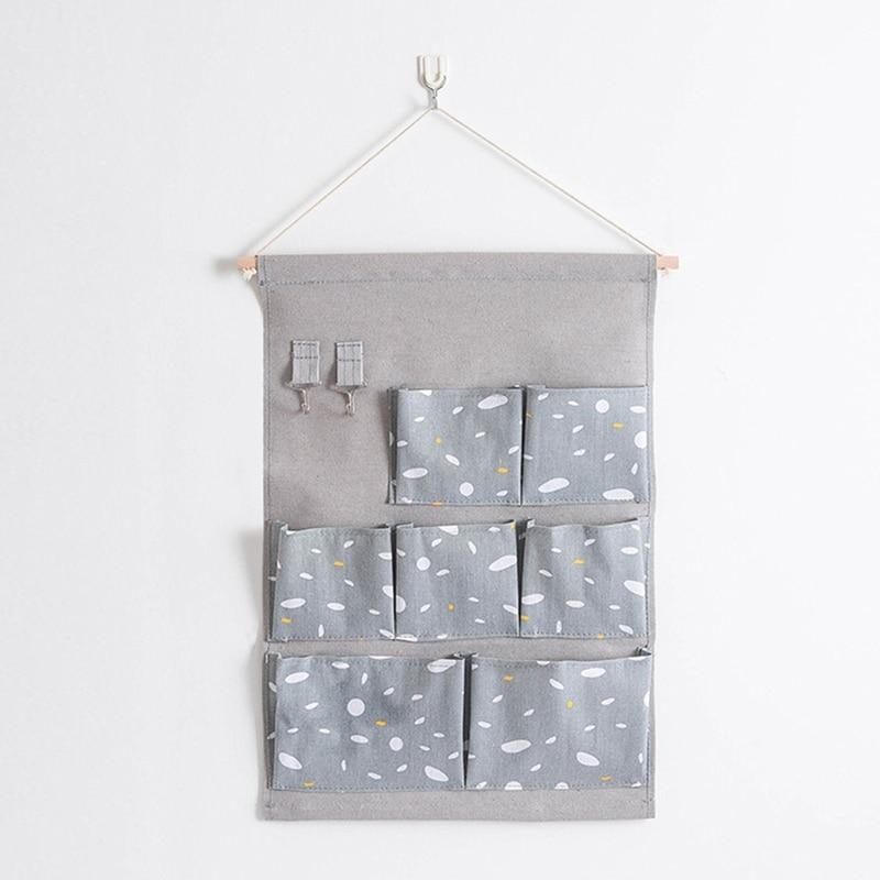 Carttoon настенная подвесная сумка для хранения в скандинавском стиле, органайзер для детской кроватки, декор для детской комнаты, детская игрушка, сумка для хранения подгузников, Домашний Органайзер - Цвет: 16