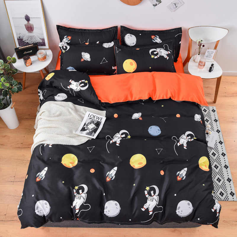Tropical zebra bed linen Bedding Sets duvet Cover pillowcase flat bed sheet King Queen double Full 4pcs single 3pcs