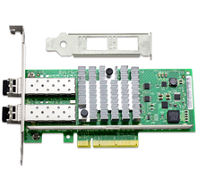 X520-SR2 82599ES 10G Network Card with 2 SFP+ Transceiver Dualport PCIe 2.0 X8(China)