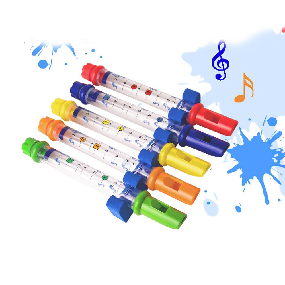 Water Flute Toy Kids Children Colorful Shower Bath Tub Tunes Music Sounds Gift New