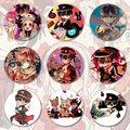 Брошь в виде унитаза Hanako-kun японский значок аниме Jibaku Shounen Hanako-kun Nene Yashiro Teru Minamoto значок для косплея