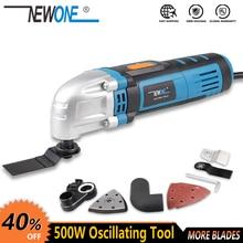 Newone Multifunctionele Power Tool Elektrische Trimmer Vernieuwer Zag 500W Cutter Oscillerende Tool Met Handvat Multifunctionele Blades