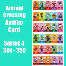 Series 4 (301 to 350) Animal Crossing Card Amiibo Cards Work for Switch NS 3DS Games Card Animal Crossing Amiibo Card New Leaf series 4 301 to 350 animal crossing card amiibo cards work for switch ns 3ds games card animal crossing amiibo card new leaf
