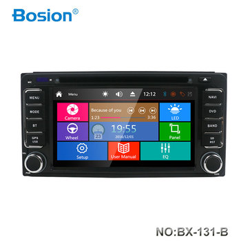 Bosion 2 din car dvd player For Toyota Corolla Hilux Rav4 Terios multimedia player stereo GPS radio navigation image