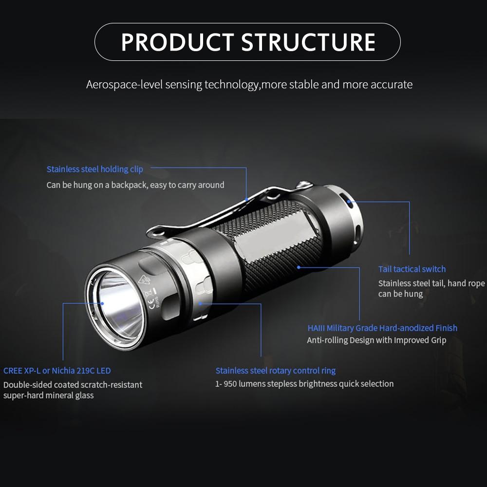 jetfeixe lanterna tatica rrt01 cree xpl led escurecimento 01