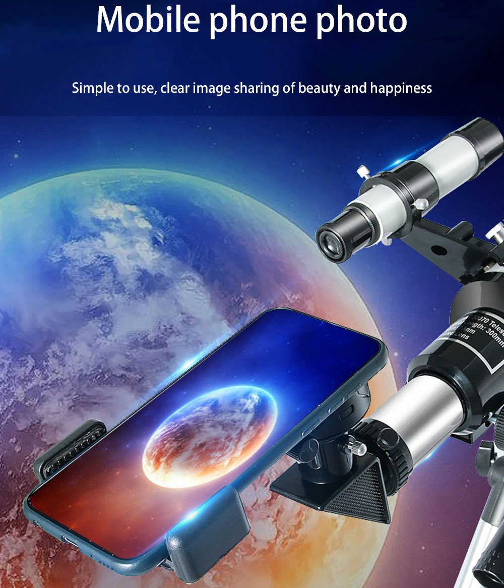 Tools : HD Professional Astronomical Telescope High Quality Astronomical Telescope Powerful Zoom Night Vision Deep Space Star View Moon