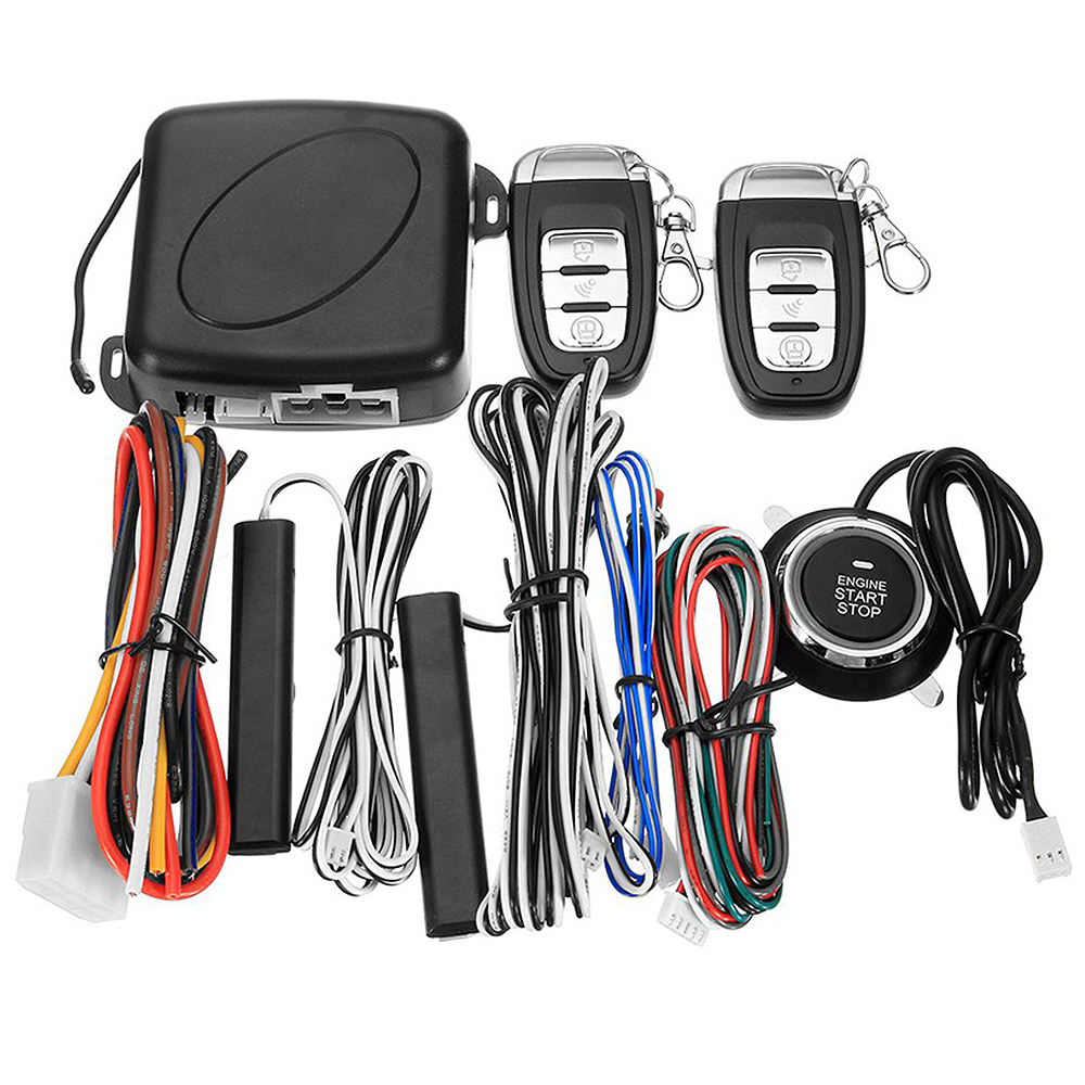 Alarm-System Remote-Starter Push-Button Entry-Engine Cars Universal Smart-Car for SUV