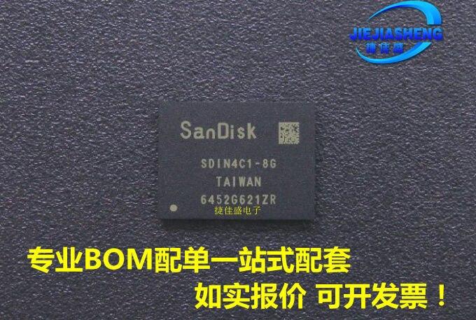 5 шт. SDIN4C1-8G :FBGA-169