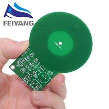 1 sztuk zestaw DIY zestaw wykrywacz metalu zestaw elektroniczny DC 3V-5V 60mm czujnik kontaktowy moduł tablicy DIY część elektroniczna wykrywacz metali