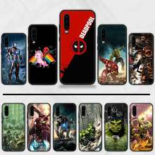 Marvel Avengers captain Spiderman legends Copertura Del Telefono Fonda Per Huawei P9 P10 P20 P30 Lite 2016 2017 2019 plus pro P di smart(China)