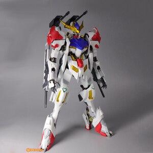 Image 5 - سبيكة MG 1/100 ASW G 08 Gundam Barbatos HIRM كامل اللون شفاف الخارجي درع الجمعية نموذج عمل دمى أشكال