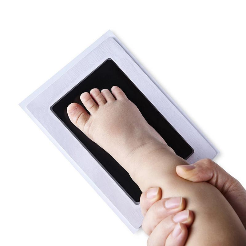 Лидер продаж! Высококачественный сенсорный коврик с чернилами для новорожденных, отпечатков ног, отпечатков пальцев, «сделай сам», фоторам...