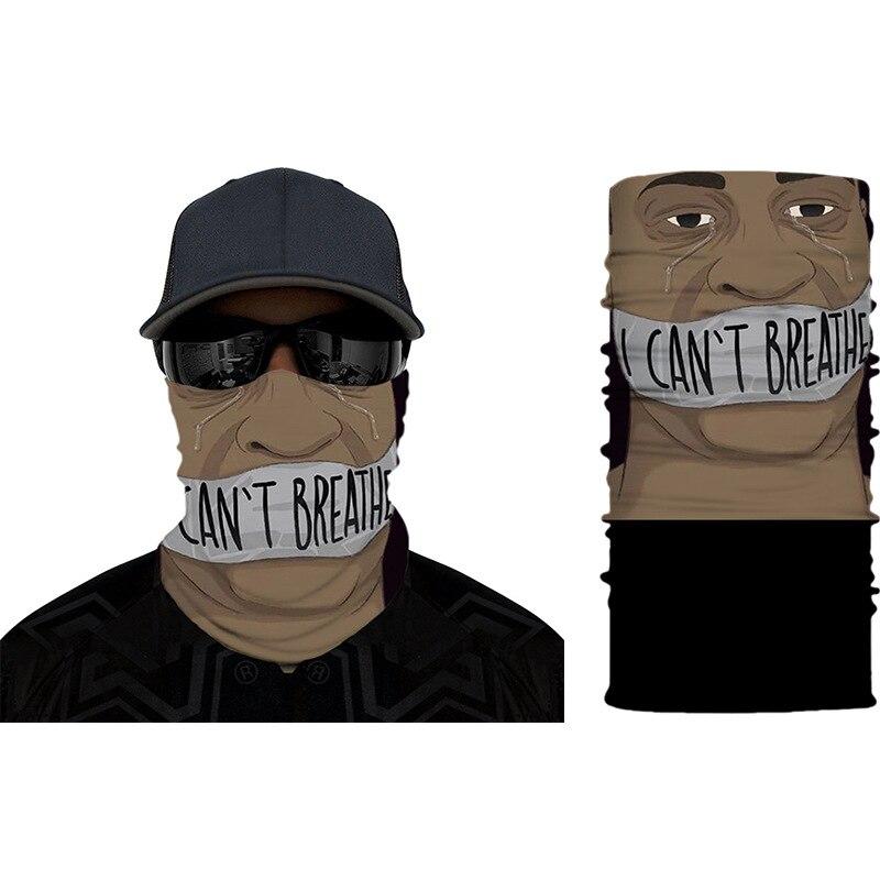 Sunscreen Cloth Mask Magic Scarf Hot Sale Black Lives Matter Headband Scarf Bandana High Quality Mouth Face Mask Bandana(China)