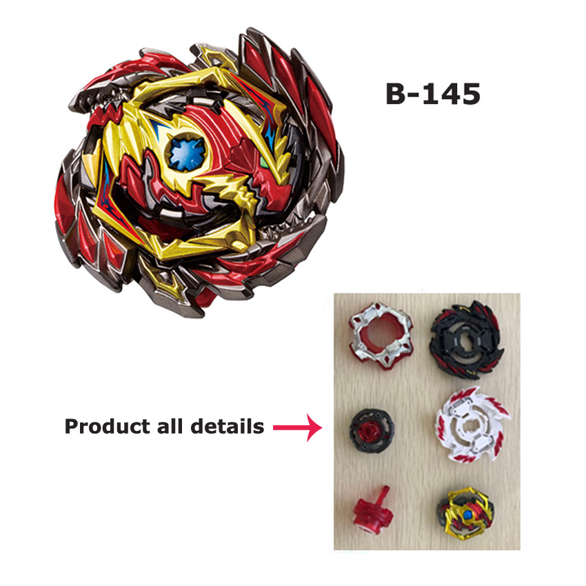 Tops Burst Launchers Beyblade GT Toys B-145 144 Burst Bables Toupie Bayblade Metal Fusion God Spinning Tops Bey Blade Blades Toy