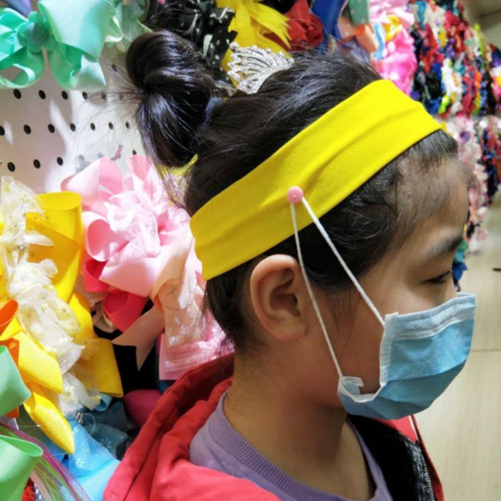 14pcs//set Pure Milk Silk Yoga Headband Sports Fitness Elastic Sweatband